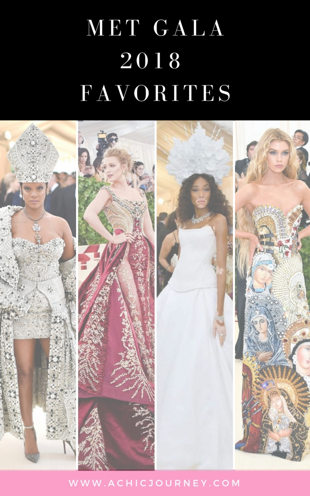 MET GALA 18 Favorties